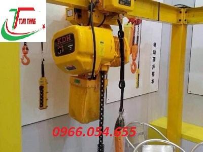 Palang xích điện KDH 0,5 tấn
