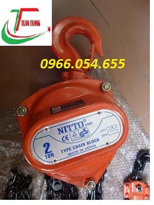 Palang kéo tay Nitto 2T/3M
