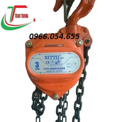 Palang kéo tay Nitto 3t/3m