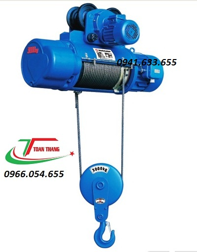 Palang cáp điện CD/380v 3T6M